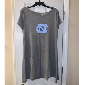 UNC Tar Heels T-Shirt Dress League XL Carolina